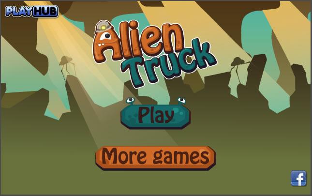 Truck Game : Alien Truck