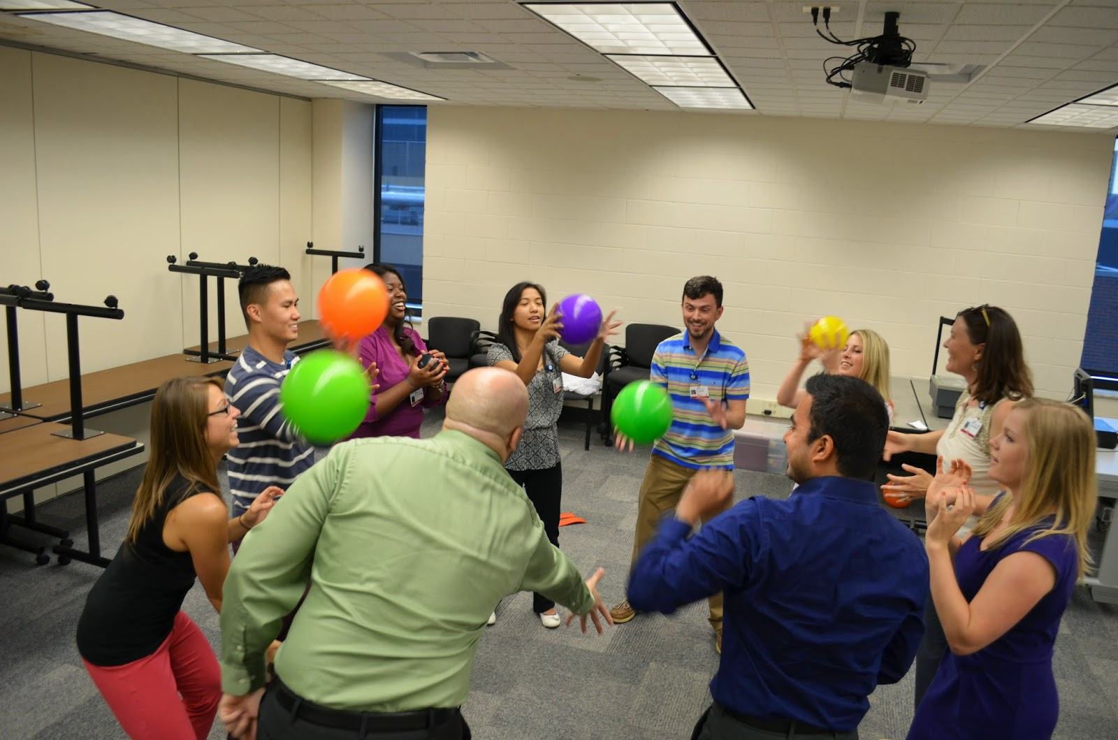 Team Building Activities Group Juggle