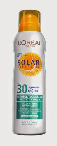 Aerossol Toque Seco Solar Expertise, L´Oréal Paris