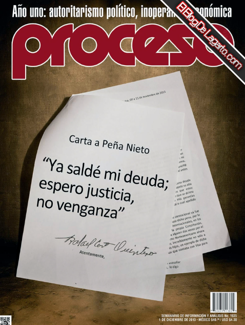 Proceso No.1935 Diciembre 2013 - Carta a Peña Nieto