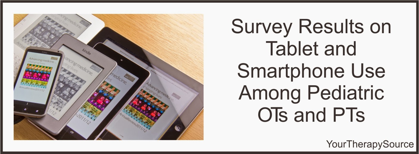 Survey Results on Tablet/Smartphone Use Among Pediatric ...