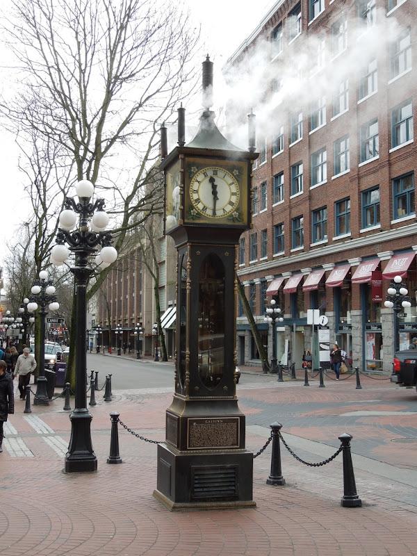 Gastown steamclock Vancouver