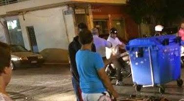 Σοβαρό τροχαίο με τραυματία στη Νίκαια σημειώθηκε χθές το βράδυ...[photos]
