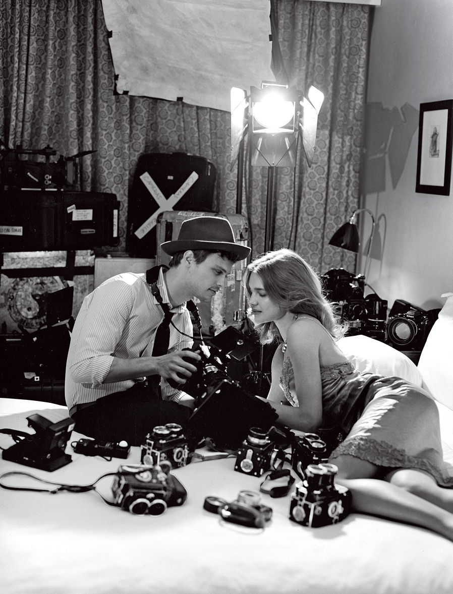 via fashioned by love | Natalia Vodianova in Vogue US May 2011 (photography: Bruce Weber)