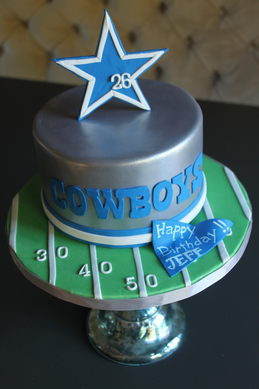 Dallas Cowboys Birthday Cake Just The Frosting