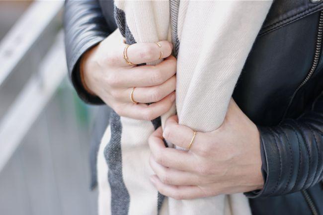 Gorjana, jewelry, outfit, style, gold,