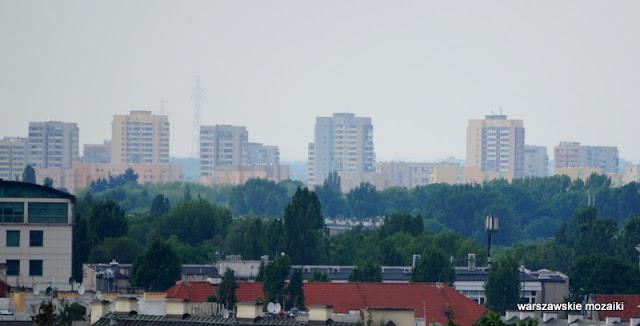 widok panorama Warszawa