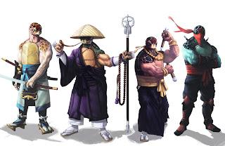 Exemplos de Personagens Diferentes