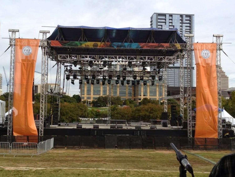 Crown and JBL at Fun Fun Fun Festival