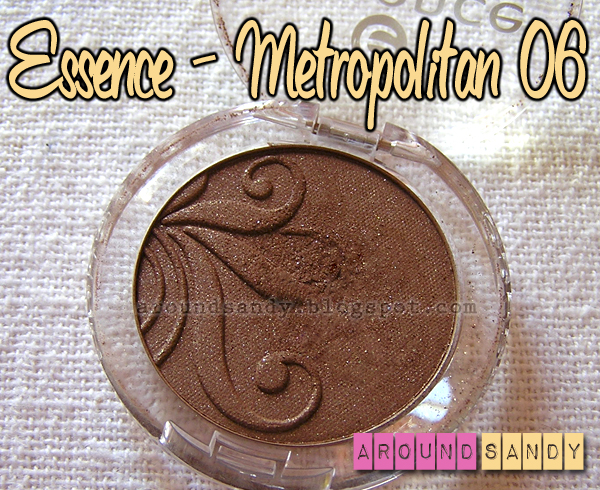 essence sombra 06 metropolitan eyeshadow review swatches dónde comprar
