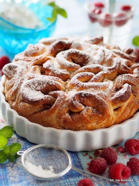 drożdżówka cynamonowa , ciasto , bułki maślane z cynamonem , moje wypieki
