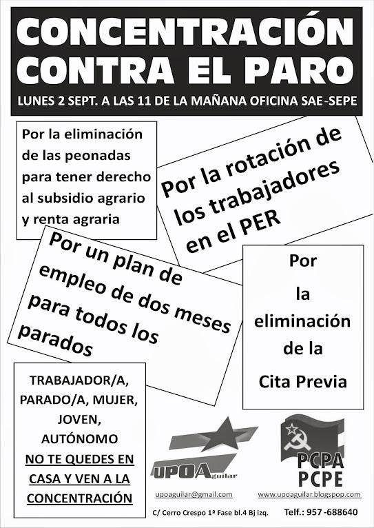 [UPOA, PCPA-PCPE] Concentración contra el paro en Aguilar de la Frontera  Cartel%2BConcentraci%25C3%25B3n%2Bcontra%2Bel%2Bparo%2B%25281%2529