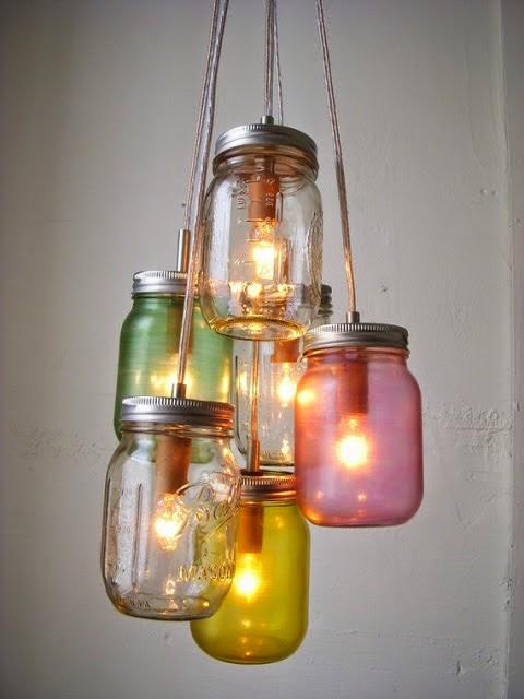 Lampu Hias Unik dan Menarik Dari Toples