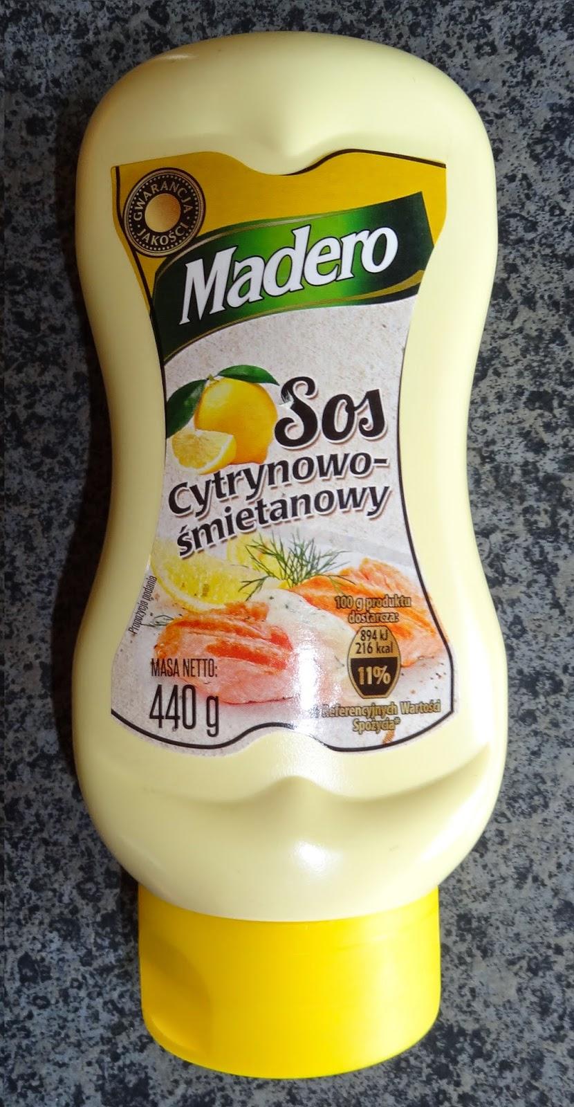 Madero Sos Cytrynowo-Śmietanowy