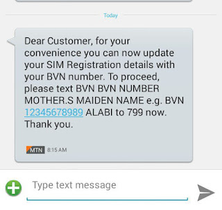 Update: MTN Users Can Now Update Their Sim Registration Details With Their BVN Number