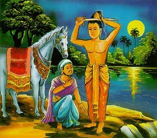 Kumpulan Materi Agama Buddha Pelepasan Agung Pangeran Siddharta
