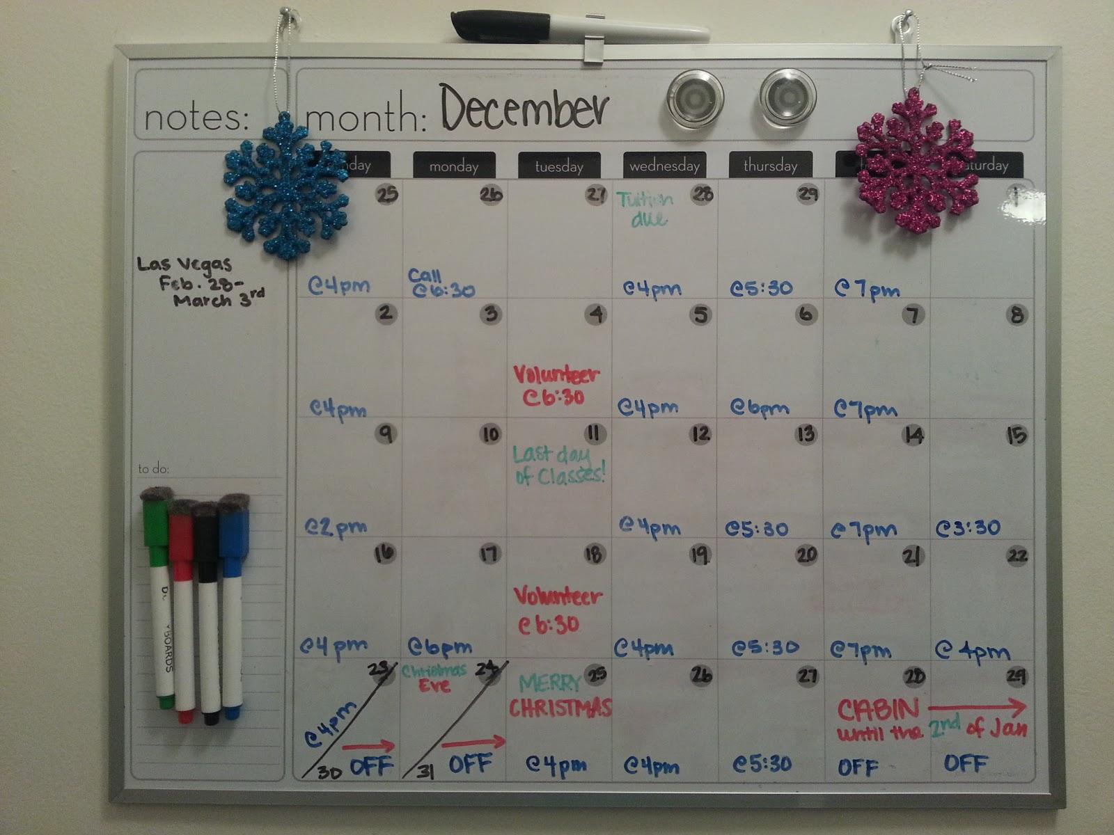 Organizational Diva Organize Your Life Monthly Calendar