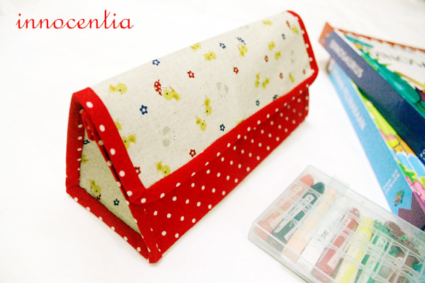 This pretty little panda pouch is from a massive list of 16 Awesome Free Pencil Case Tutorials!