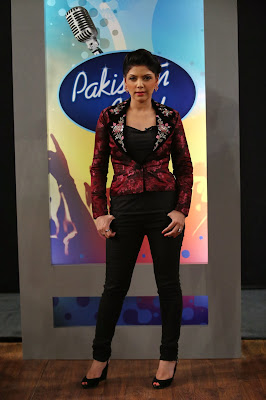 Pakistan Idol judge Hadiqa Kiani
