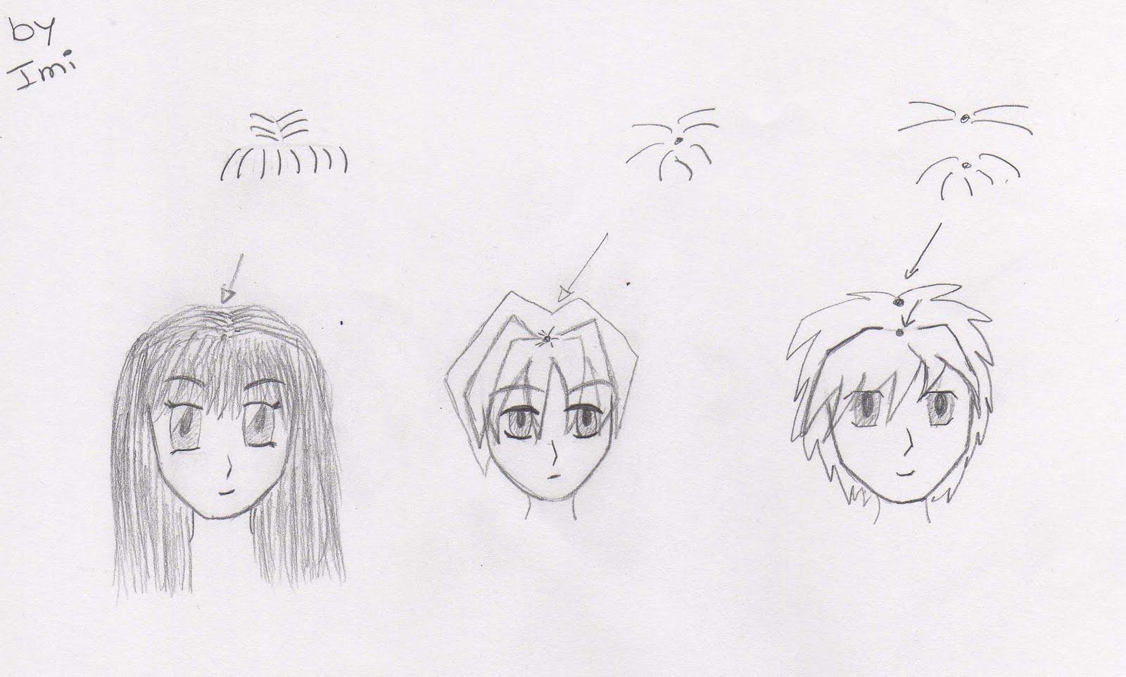 ... como se ve en el ejemplo se nota que dibujar el pelo no es mi fuerte