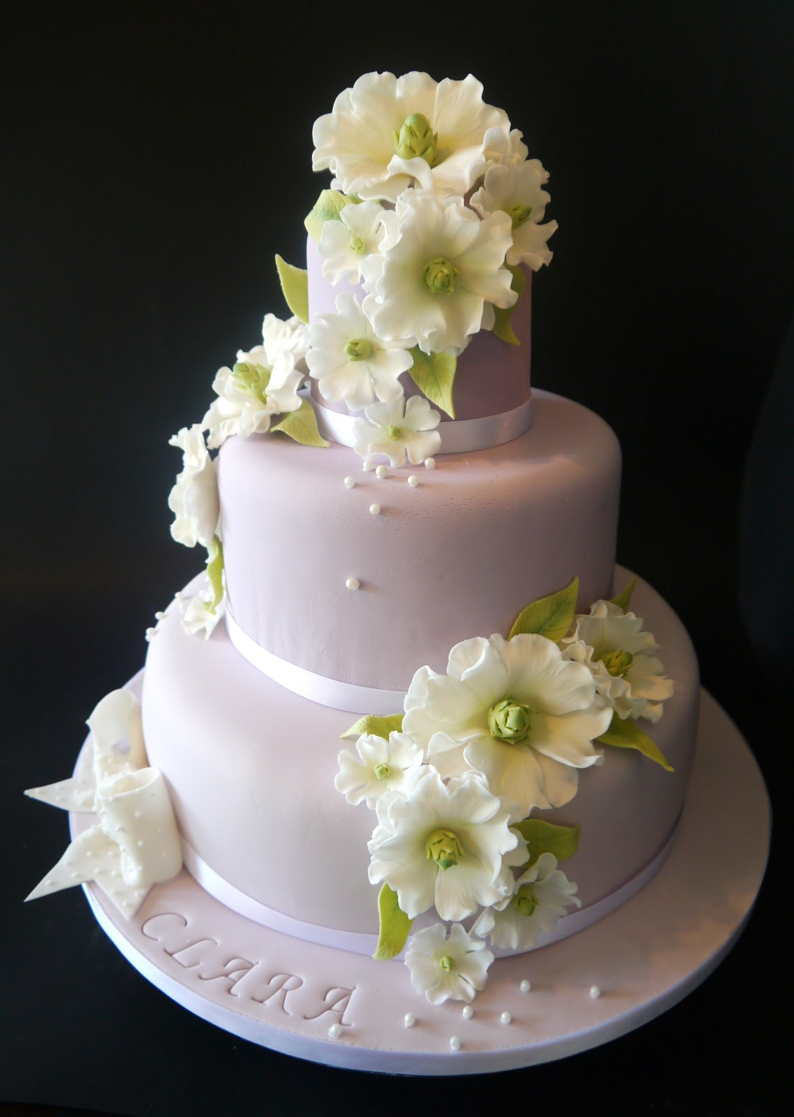 Incanto di zucchero torta per la cresima di clara - Decorazioni per cresima ...