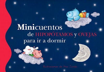 portada minicuentos de hipopótamos y ovejas para ir a dormir
