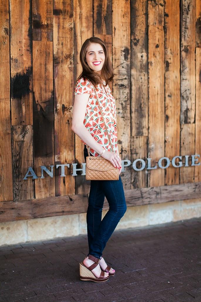 Anthropologie Highland Park Village Dallas fashion blogger
