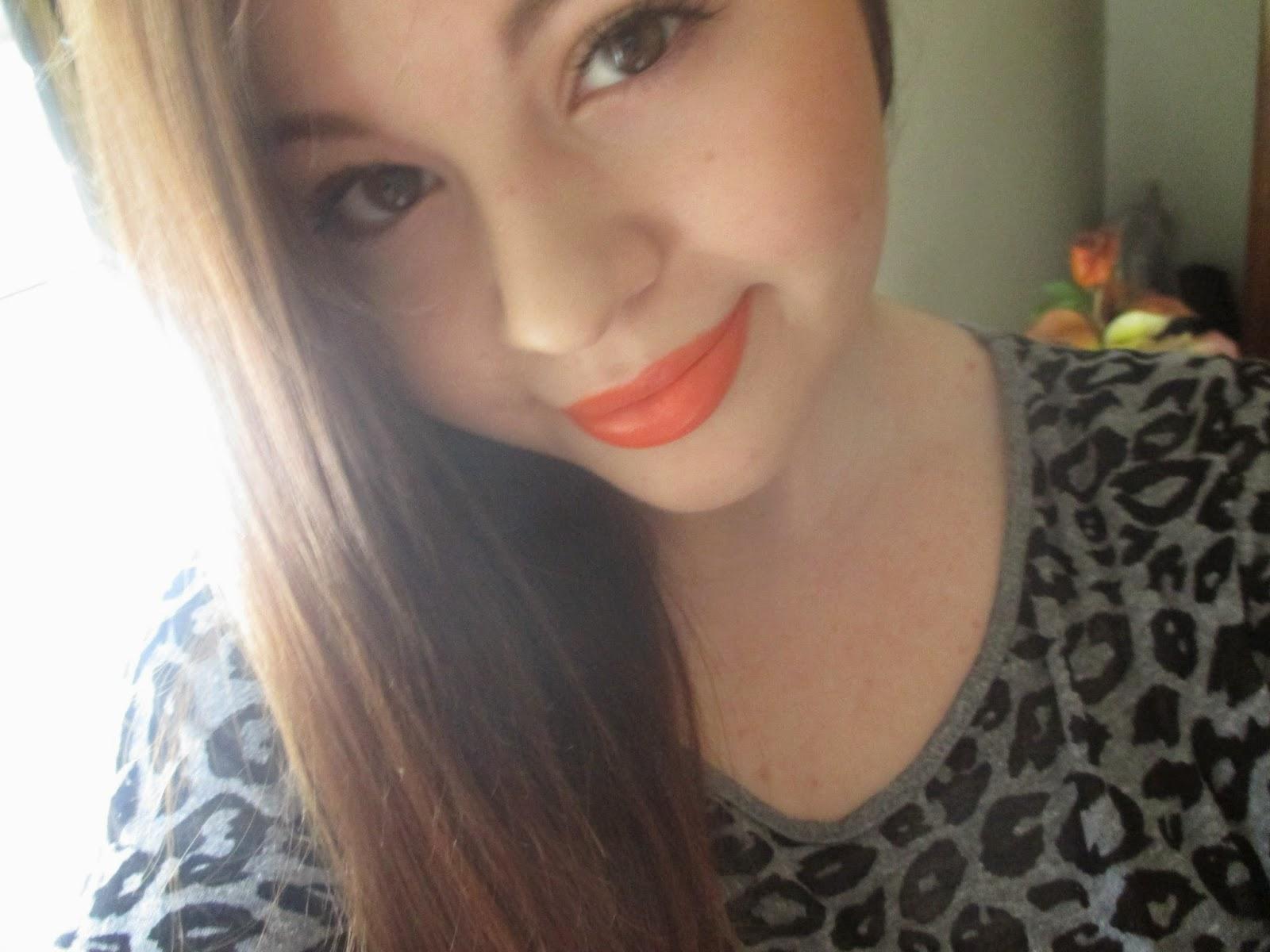 Orange Oasis - Makeup