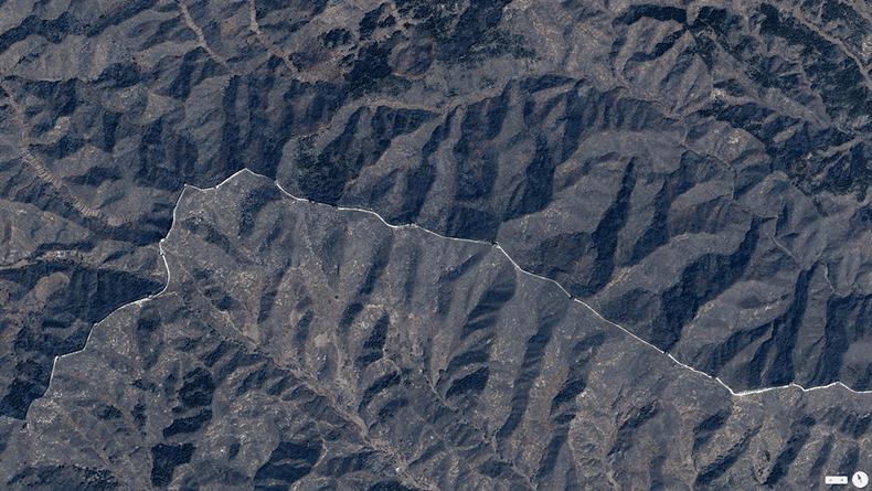 Foto mozzafiato: Cina Settentrionale - Grande Muraglia Cinese