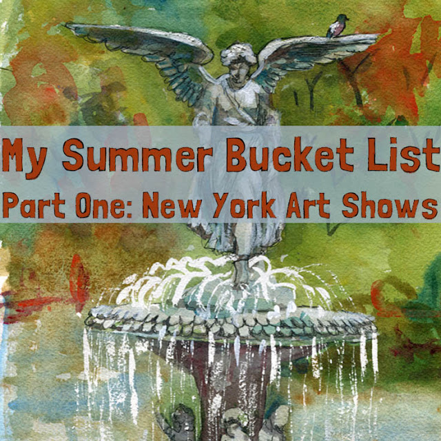 6 not to miss new york art shows 2015 : http://schulmanart.blogspot.com/2015/06/summer-bucket-list-6-must-see-nyc-art.html