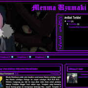 Download Template Blog Menma Uzumaki V2