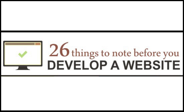 Image: 26 Things to Note Before you Develop A Website [Infographic]