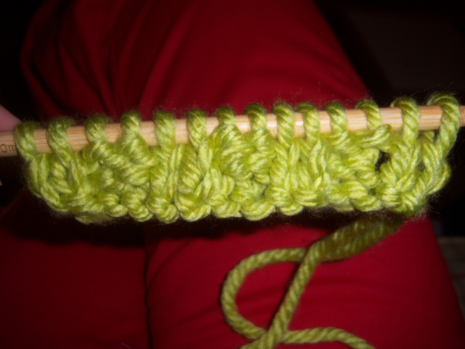 What Does Knit One Stitch Below Mean : VanHook & Co.: knit or purl