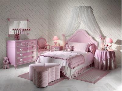 decoracion habitacion rosa adolescente