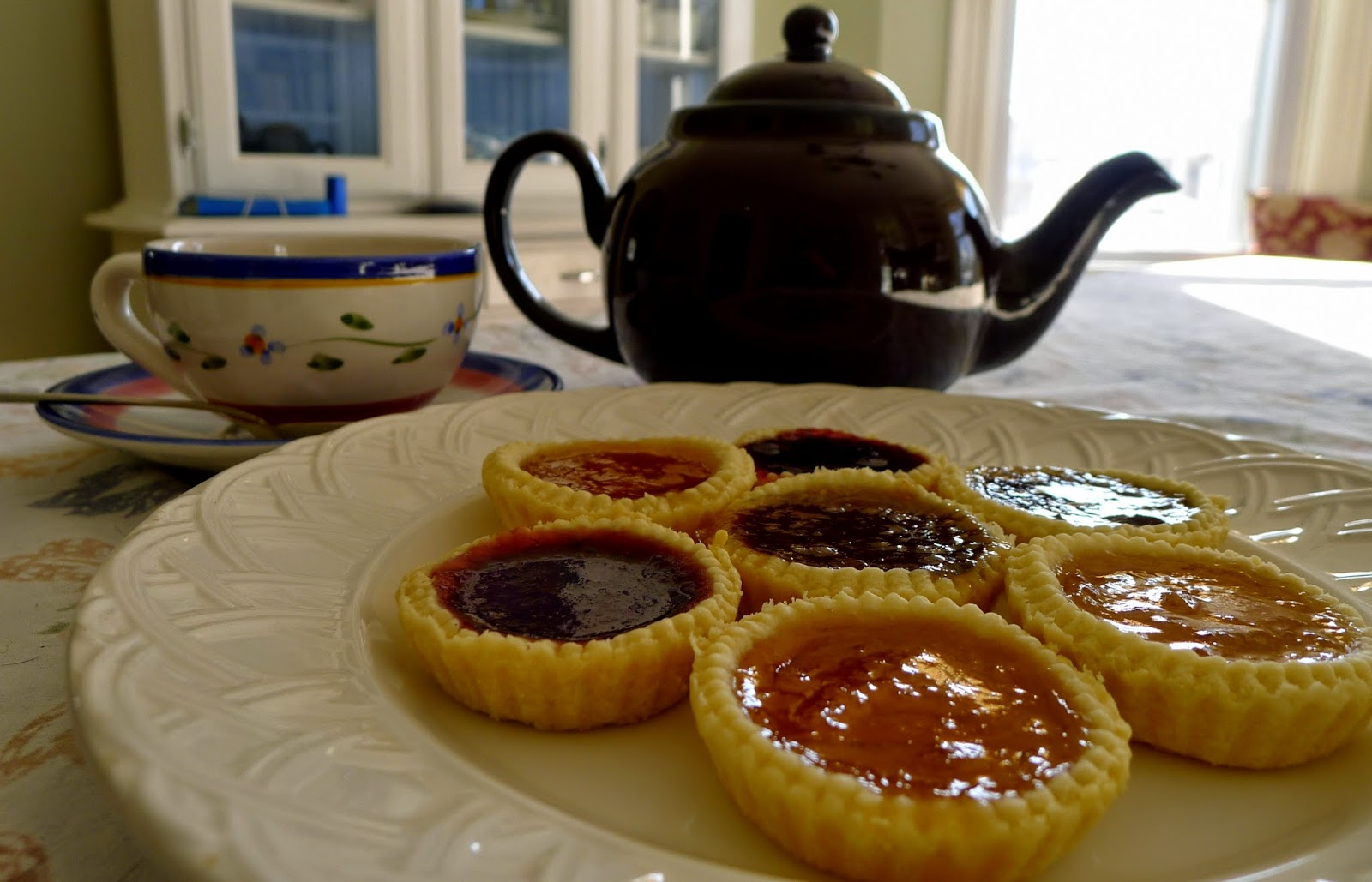 English Afternoon Tea: Jam Tart Recipe