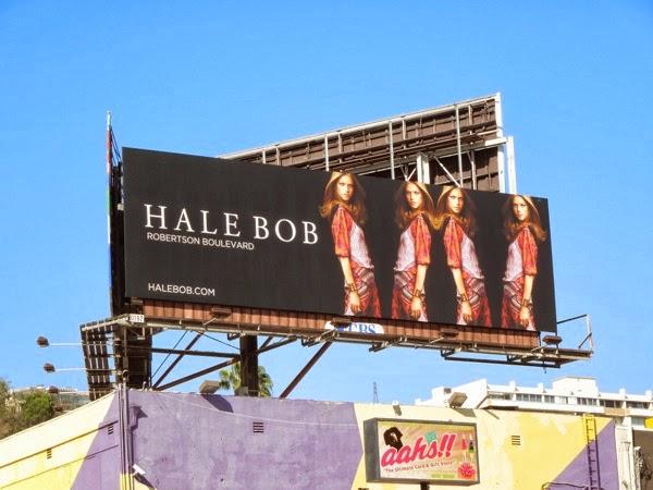 Hale Bob Spring 2014 billboard