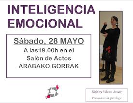 "Charla ""INTELIGENCIA EMOCIONAL"" // 28 MAYO"