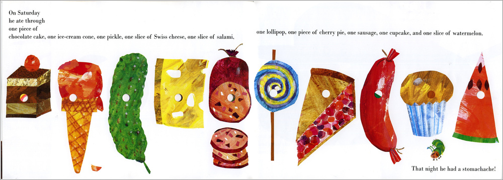 Very Hungry Caterpillar Junk Food Reading Reflections: T...