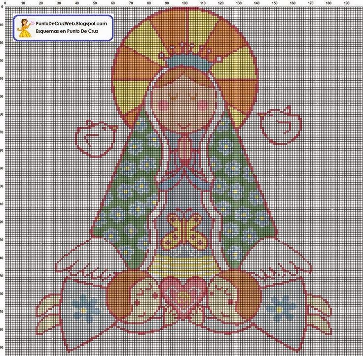 Imagenes De La Virgen De Guadalupe En Punto De Cruz MEMES Pictures