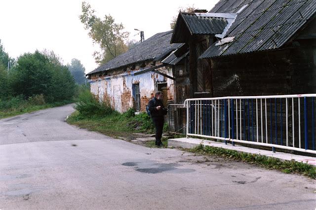 Kopaniny. Młyn spotkałem na trasie rowerowej wędrówki w 2003 roku - dzisiaj już nie istnieje. Fot. Bartłomiej Woźniak.