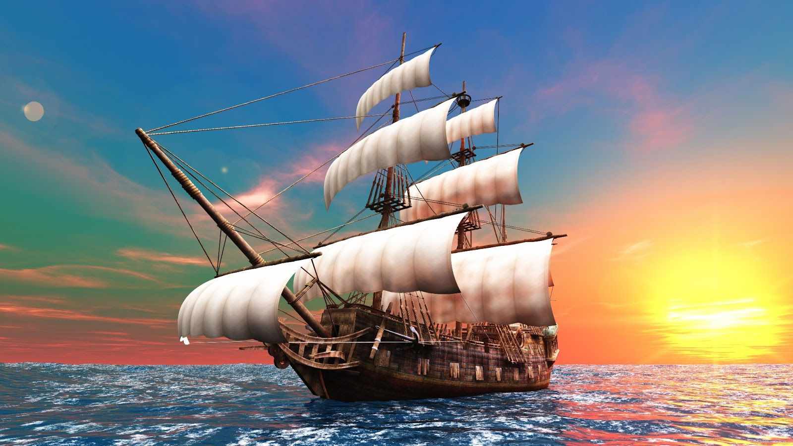 Wallpaper download mast -  Sail Wallpaper