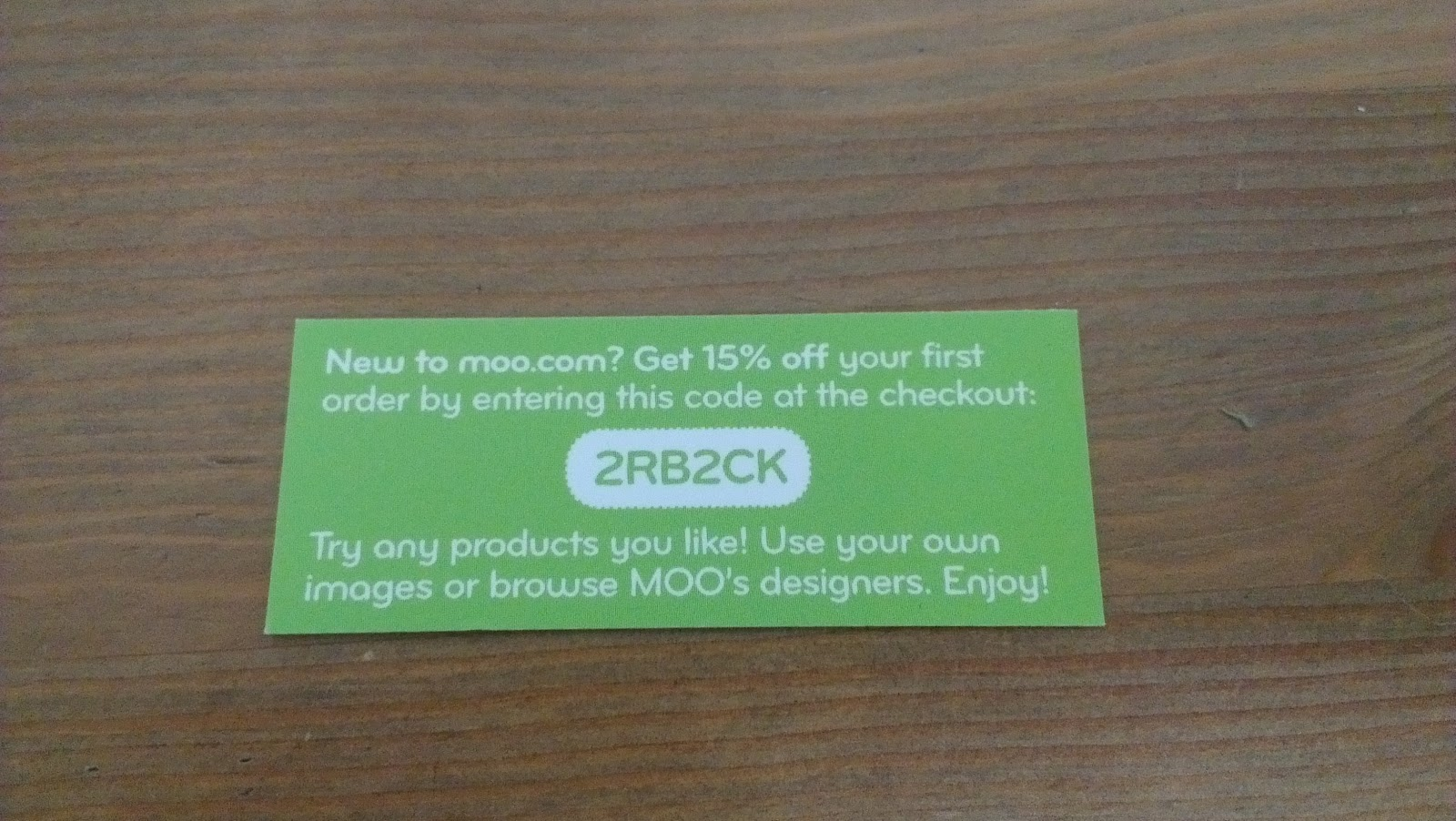 Mrs H - the blog: Moo.com discount code