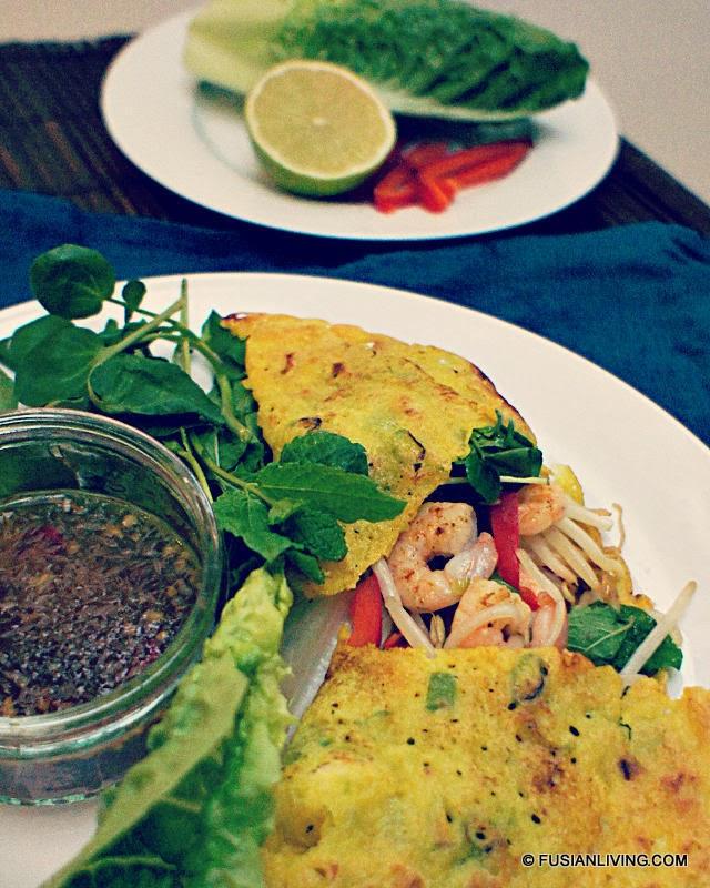Vietnamese Pancake Banh Xeo