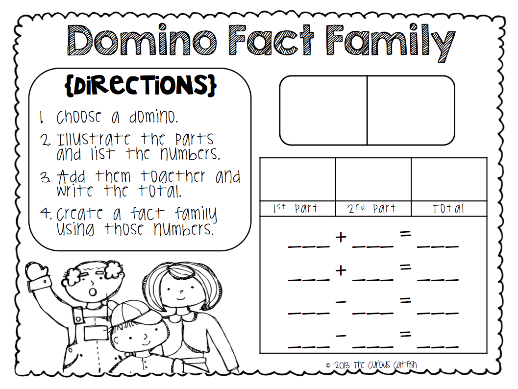 Worksheet 12241584 Fact Families Worksheets Multiplication and – Math Fact Families Worksheets 2nd Grade