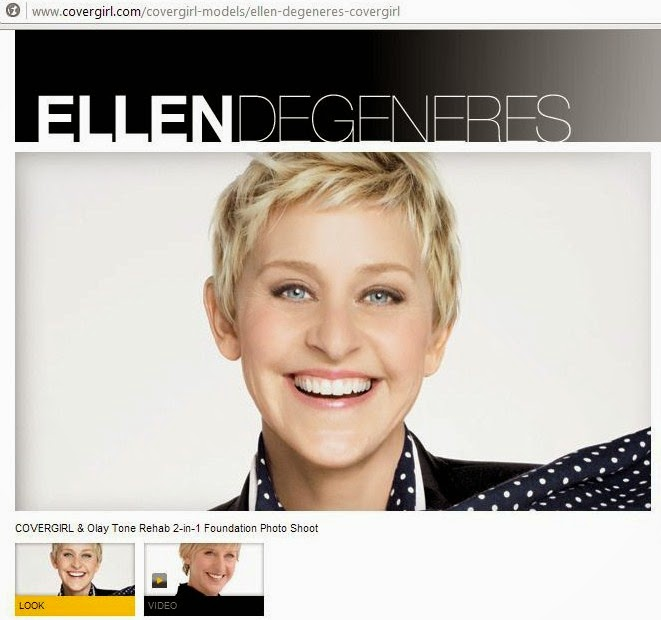 Did Covergirl drops Ellen Degeneres?