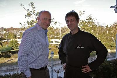 Esteban Capdevila y Jesús del Cerro en Carême. Blog Esteban Capdevila