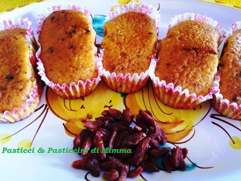 mini plumcake del  mulino....con yogurt e bacche di goji  (comequellicomprati)