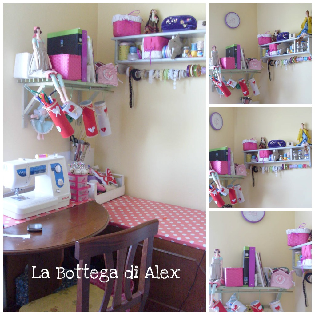 La bottega di alex la mia craft - Cestini portatutto ...