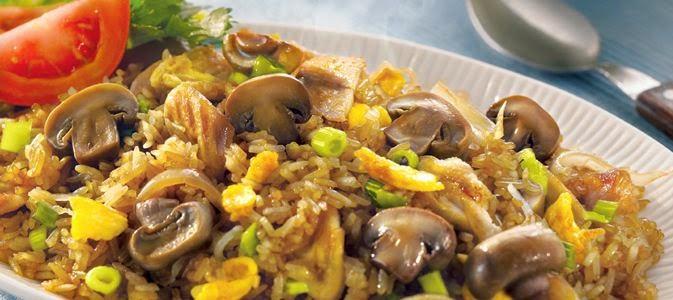Resep Nasi Goreng Ayam Jamur Ala Blueband Super Lezat