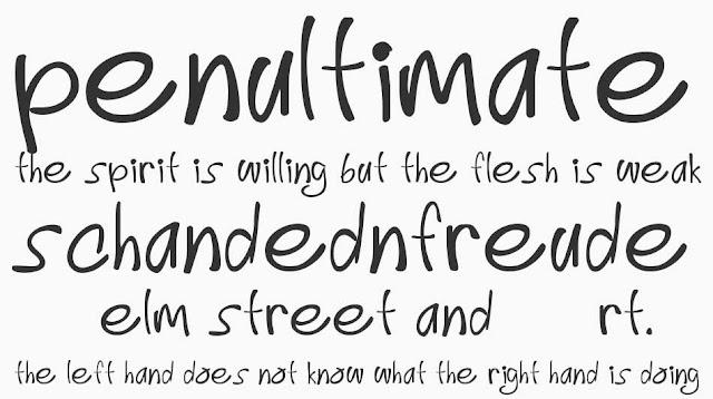Download 10 Font Bergaya 'Handwritting' Gratis
